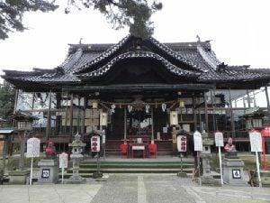 本折日吉神社(小松市本折町1) ...