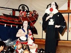 蛸島の秋祭り(早船狂言)